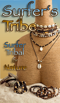 Surfer, Tribal, Nature