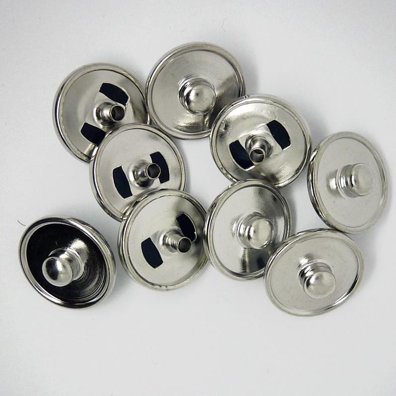 CHG001 Schmuck-Druckknopf-Verschlüsse für Gürtel 6mm