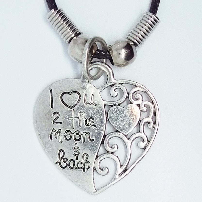 MK152- Ketten Herz I Love You To The Moon And Back
