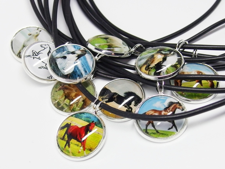 KC017 - Modeschmuck Ketten Pferde