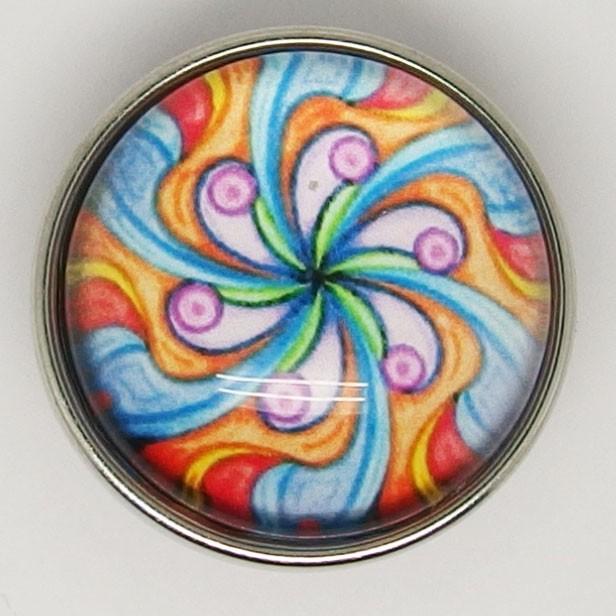 CH145a - Schmuck Mandala Blüte