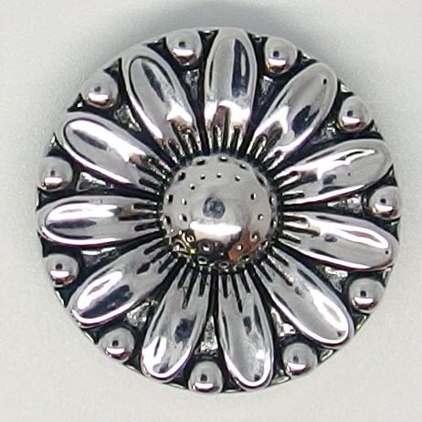 CH081 - Schmuck Druckknöpfe Gänseblümchen