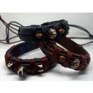 AB065 Armbander aus Leder zum binden