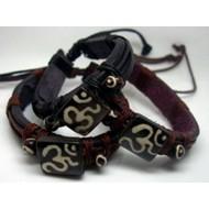 AB066 Armbander aus Leder zum binden