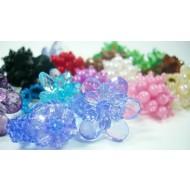 R014 Ringe aus Acryl Perlen