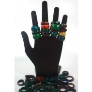 R015 Ringe aus Kokos