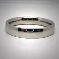 STR017 Ringe aus Edelstahl schlicht