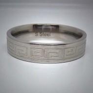 STR021 Ringe aus Edelstahl Wellen