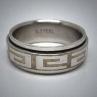 STR060 Ringe aus Edelstahl Welle spinner