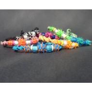 UVA002 UV Armbänder aus Makramee