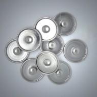 CHP001 Platten (Rohlinge) zum Herstellen von Schmuck Druckknöpfen