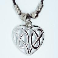 MK031 - Ketten Herz keltischer Knoten