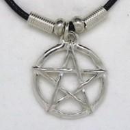 MK132 Ketten Pentagramm durchbrochen