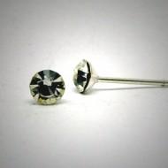 OS141 Ohrstecker aus Silber Stein kristal m.