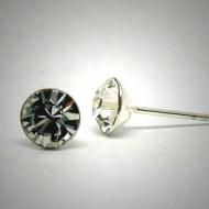 OS147 Ohrstecker aus Silber Stein kristal l.