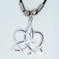 MK151 - Ketten keltisches Herz Dreifaltigkeit