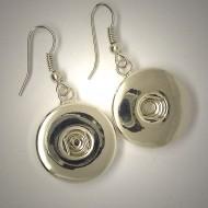 CHO001 - Ohrringe für Schmuck Druckknöpfe