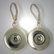 CHO002 - Ohrringe für Schmuck Druckknöpfe m. Klappbrisuren
