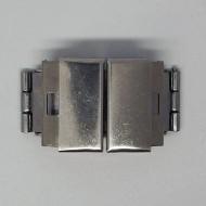 V001 - Verschüsse 18mm breit aus Edelstahl für Armbänder, Uhren etc.