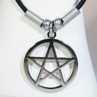 MK122 - Ketten Pentagramm silber
