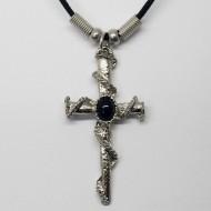 MK136 - Ketten Kreuz mit Seil