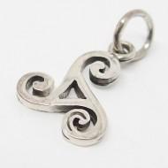 SS087 - Kettenanhänger Keltische Triskele mini