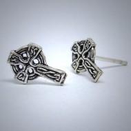OS078 Ohrstecker aus Silber Keltischer Knoten