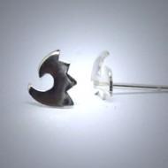 OS084 Ohrstecker aus Silber Fantasie1