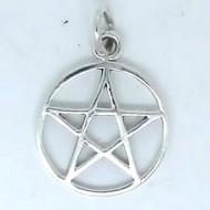 SS049 Kettenanhänger Pentagramm