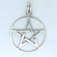 SS052 Kettenanhänger Pentagramm