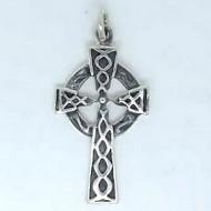 SS107 Kettenanhänger Keltisches Kreuz mitel