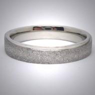 STR083 Ringe aus Edelstahl schmal matt / glänzend